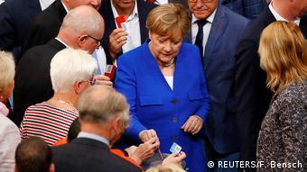 Angela Merkel vota contra casamento gay