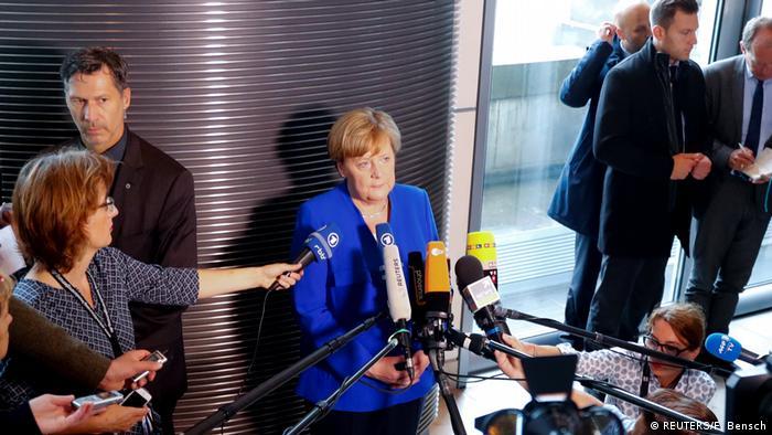 Kancelarka Merkel