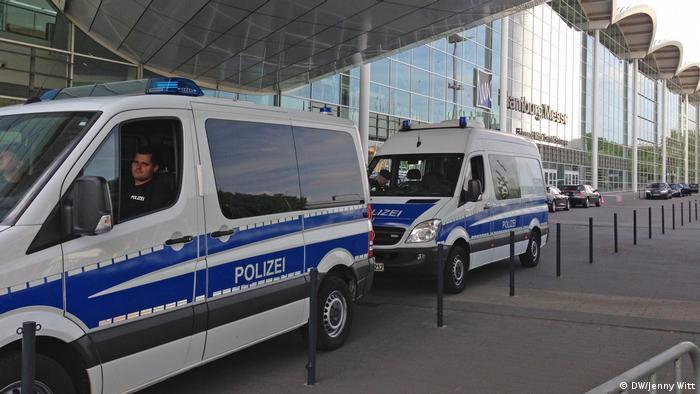 Hamburg vor G20 Treffen (DW/Jenny Witt)