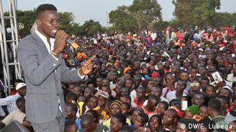 Uganda Sänger Bobi Wine