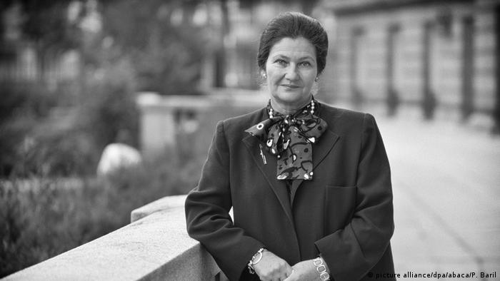 Simone Veil (picture alliance/dpa/abaca/P. Baril)