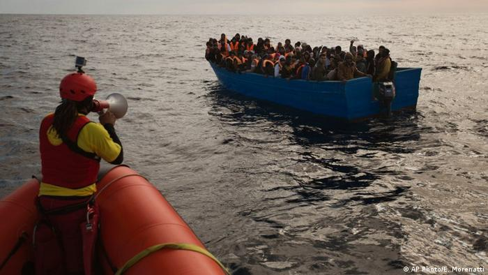The Ngos Have Rejected Accusations That Their Work Benefits Smugglers On The Mediterranean