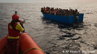 Doku - Flucht übers Mittelmeer