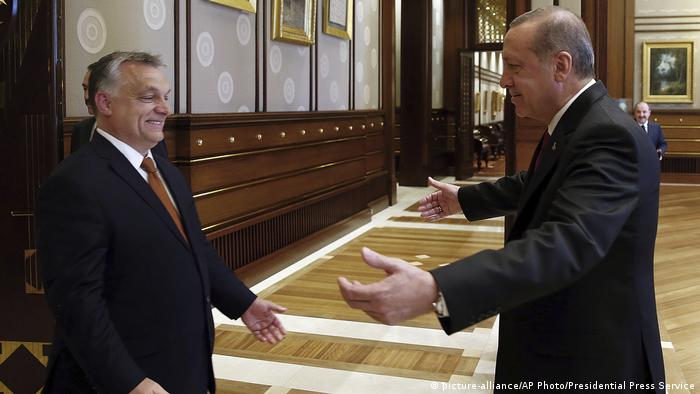 Türkei Ankara Erdogan trifft Orban