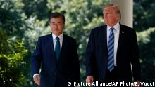 USA Südkorea Donald Trump und Moon Jae-in