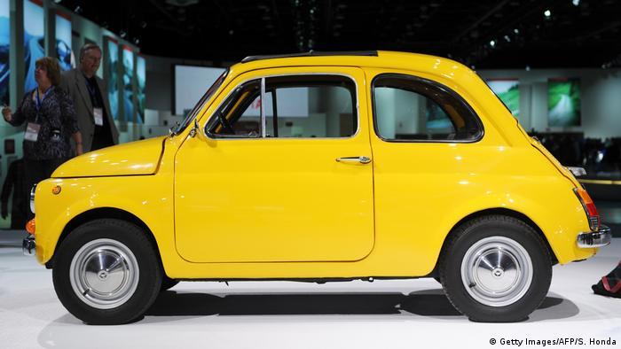 Fiat 500L (Getty Images/AFP/S. Honda)