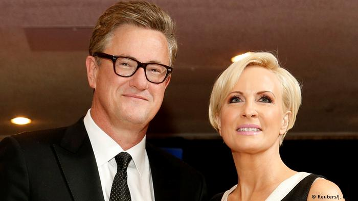 USA Joe Scarborough und Mika Brzezinsk in Washington (Reuters/J. Ernst)