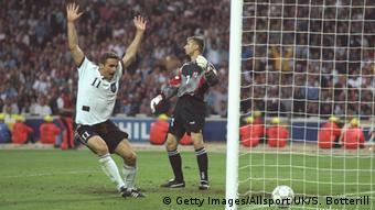 Ο Στέφαν Κουντς με την Εθνική Γερμανίας το 1996