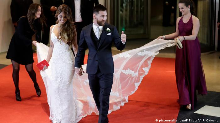 Argentina wedding of Lionel Messi and Antonella Roccuzzo
