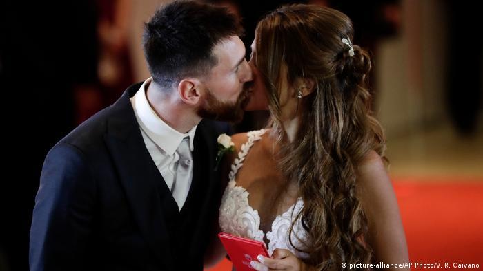 Argentinien Hochzeit von Lionel Messi und Antonela Roccuzzo in Rosario