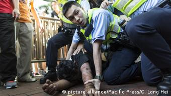 Hong Kong Protest (picture alliance/Pacific Press/C. Long Hei)