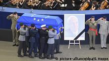 Frankreich Straßburg - Trauerfeierlichkeiten für Altkanzler Kohl