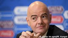 Russland FIFA Präsident Gianni Infantino - FIFA Confederations Cup Russia 2017