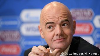 Russland FIFA Präsident Gianni Infantino - FIFA Confederations Cup Russia 2017 (Getty Images/M. Hangst)