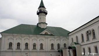 Russland Tatarstan Land und Leute Kasan Moschee