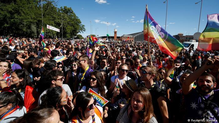 Spanien World Pride Madrid 2017 Parade