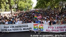 Spanien World Pride Madrid 2017 Parade