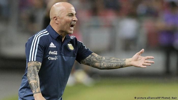 Jorge Sampaoli (picture-alliance/AP Photo/J. Nair)