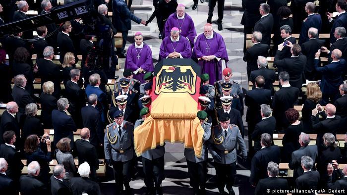 Speyer Dom Trauerfeierlichkeiten für Altkanzler Kohl