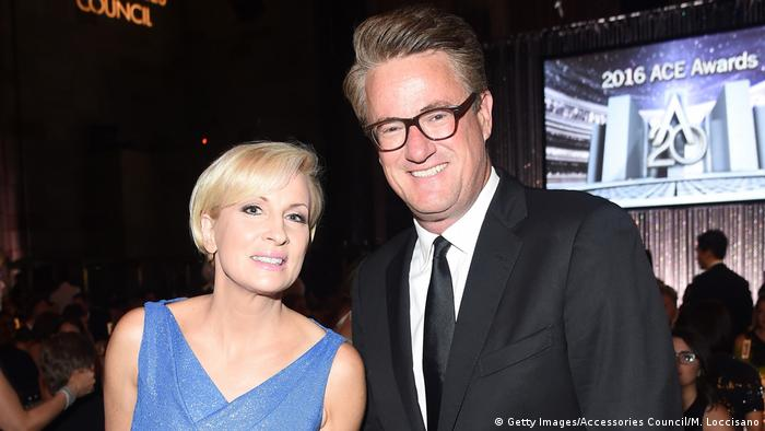 Joe Scarborough and Mika Brzezinski (Getty Images/Accessories Council/M. Loccisano)