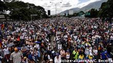 Venezuela Caracas Proteste