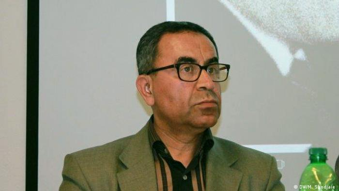 Sürgünde yaşayan İranlı gazeteci Resa Alidschani