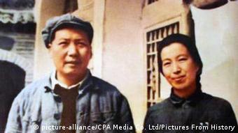 China - Mao Zedong mit vierter Frau Jiang Qing
