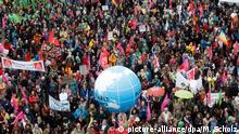 Protestwelle gegen den G20 Gipfel