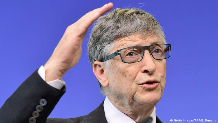 Belgien Brüssel Bill Gates (Getty Images/AFP/E. Dunand)