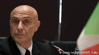 Italien Rom Innenminister Marco Minniti (Getty Images/AFP/T. Fabi)