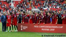 Fußball Confed-Cup Mexiko vs. Portugal 3. Platz