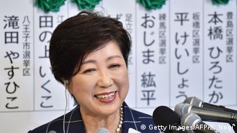 Japan Tokyo Regional-Wahlen Yuriko Koike