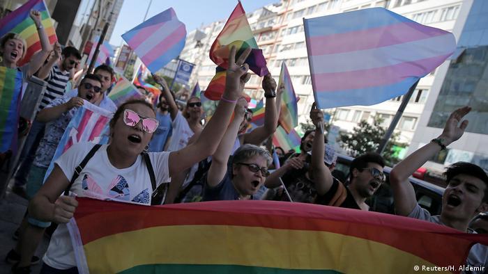 Türkei Istanbul verbotene LGBT Parade