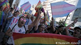 Türkei Istanbul verbotene LGBT Parade (Reuters/H. Aldemir)