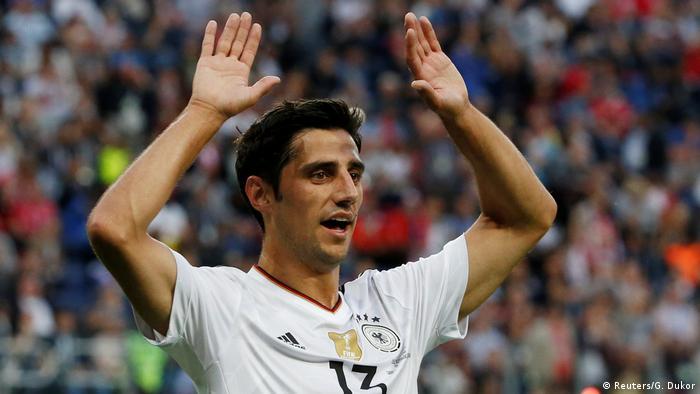 Fußball Chile v Deutschland - FIFA Confederations Cup Russia 2017 - Finale Torjubel (Reuters/G. Dukor)