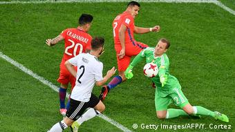 Fußball Chile v Deutschland - FIFA Confederations Cup Russia 2017 - Finale (Getty Images/AFP/Y. Cortez)