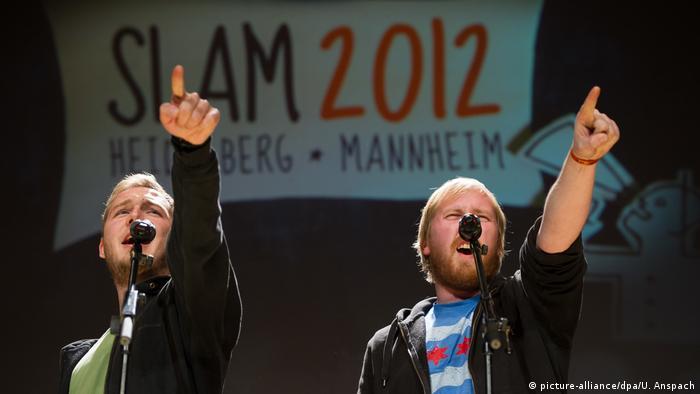 Poetry-Slam-Meisterschaft (picture-alliance/dpa/U. Anspach)