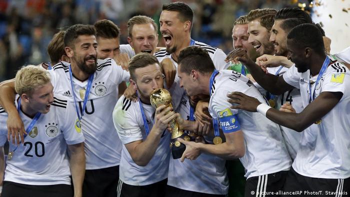 Alemanha vence Copa das Confederações na Rússia sem a maioria de seus principais jogadores