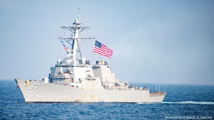 USS Stethem (Reuters/US Navy/K.A. Hatcher)