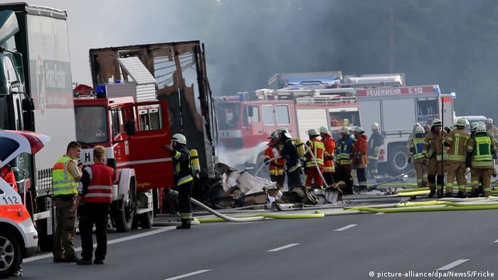 В аварії автобуса в Баварії, ймовірно, загинули 18 людей