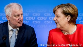 CDU and CSU leaders (picture-alliance/dpa/M. Kappeler)