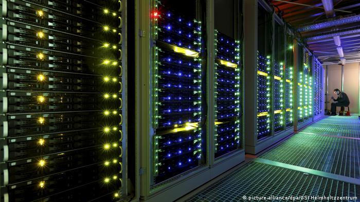 Rechenzentrum Green IT Cube (picture-alliance)