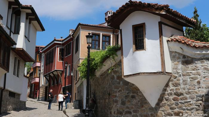 Casco antiguo de Plovdiv, Bulgaria