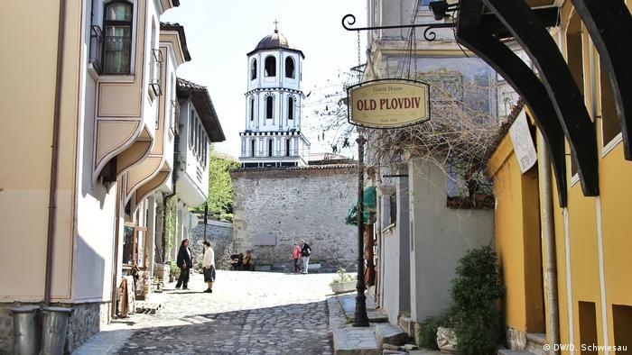 Bulgarien Plovdiv Altstadt (DW/D. Schwiesau)