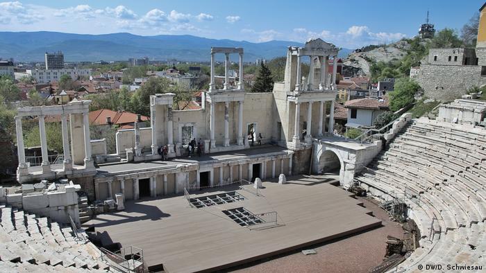 Bulgarien Plovdiv Amphietheater (DW/D. Schwiesau)