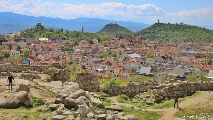 Bulgarien Plovdiv Stadtansicht (DW/D. Schwiesau)
