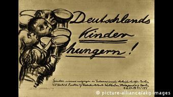 150 Jahre Käthe Kollwitz Deutschlands Kinder hungern (picture-alliance/akg-images)
