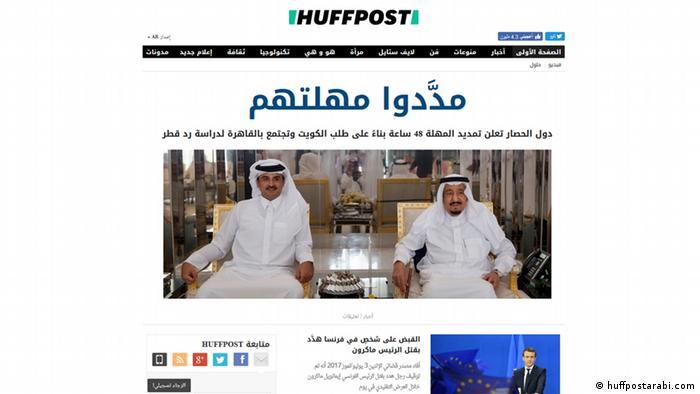 Screenshot huffpostarabi.com (huffpostarabi.com)