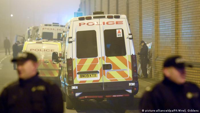 Situation in britischen Gefängnissen (picture-alliance/dpa/PA Wire/J. Giddens)