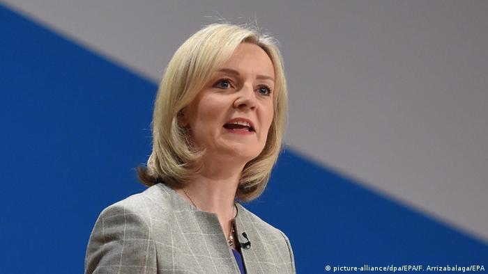 İngiltere Ticaret Bakanı Liz Truss